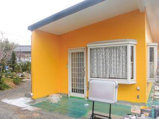 外壁・屋根リフォーム 明るく立ち入りやすい雰囲気の店舗概観