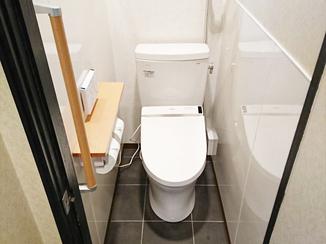 トイレリフォーム 機能性・デザイン性にもこだわった、コストパフォーマンスに優れたトイレ