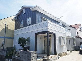 外壁・屋根リフォーム 見違えるほどきれいになった外壁と屋根