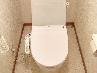 トイレリフォーム 温水洗浄機能つきの価格を抑えたトイレ