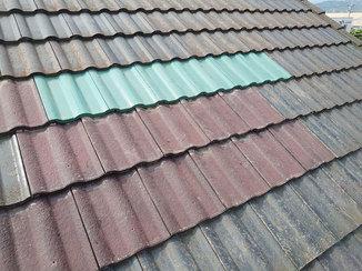 外壁・屋根リフォーム 防水処理を施し、根本から雨漏りを解消した屋根